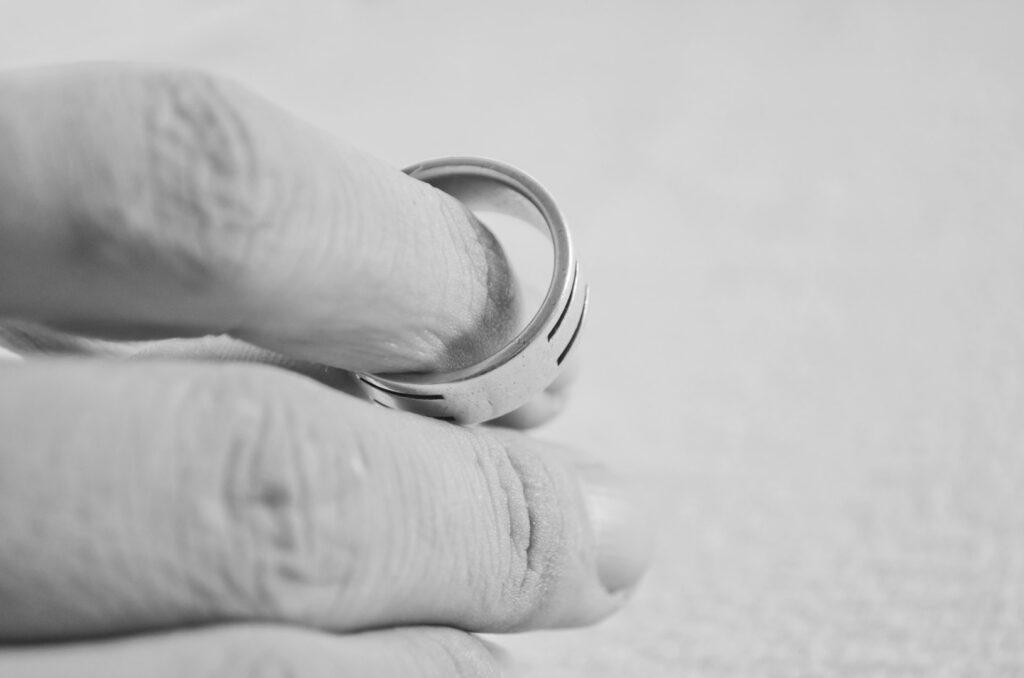 Coração partido no divórcio consensual