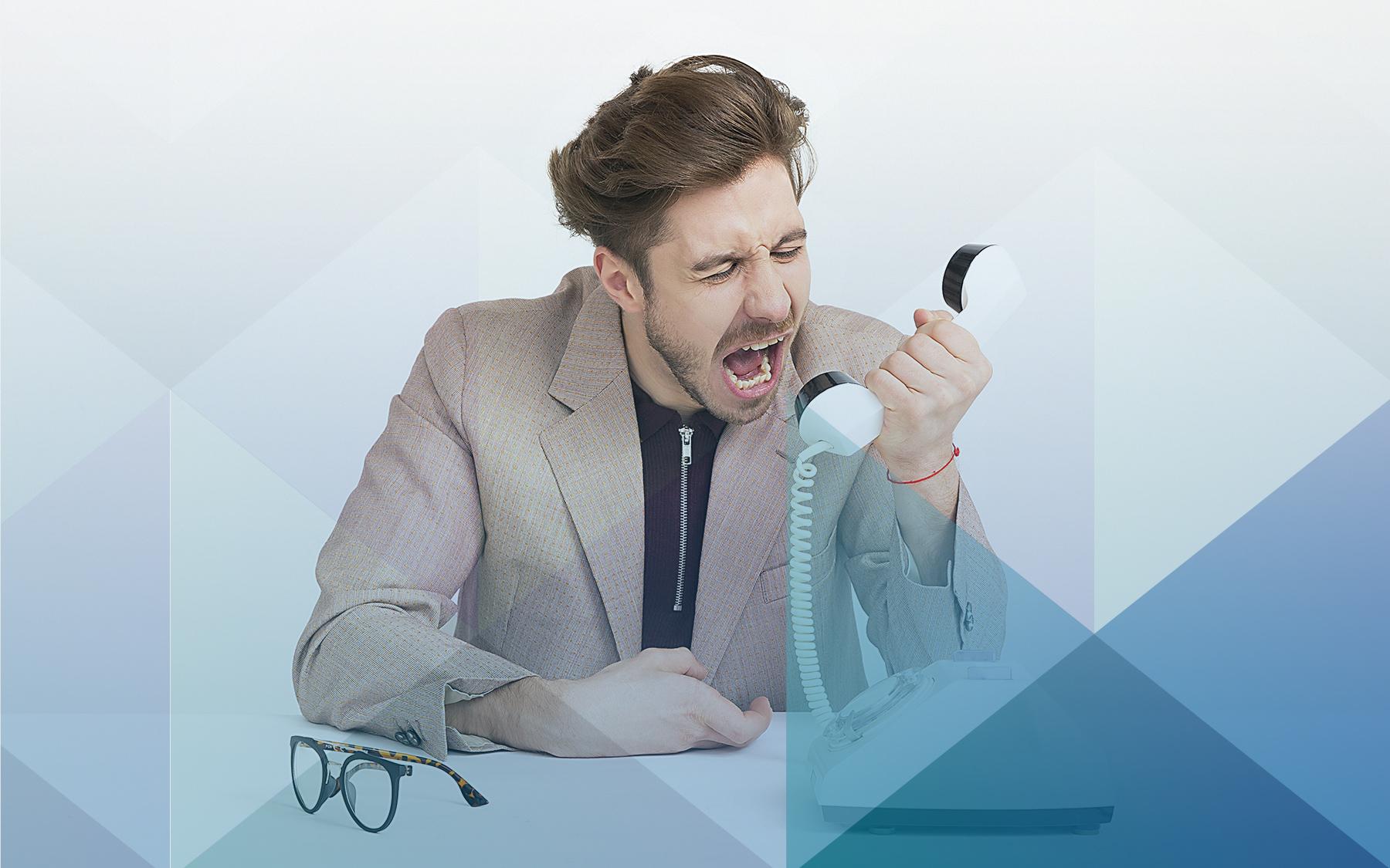 Empresário demitindo em justa causa por agressão